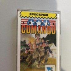 Videojuegos y Consolas: JUEGO SINCLAIR SPECTRUM TRIPLE COMANDO CAJA ORIGINAL DRC SOFT. Lote 122721259