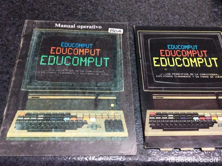 'EDUCOMPUT'. APRENDE CÓMO PIENSA 1 ORDENADOR. MOVIBLE. 1981 - EXPLICADOS EN FORMA DE JUEGO (Juguetes - Videojuegos y Consolas - Spectrum)