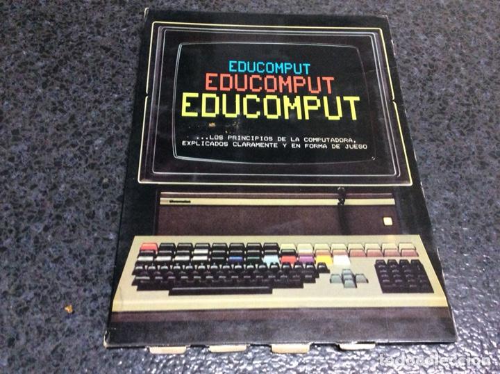 Videojuegos y Consolas: 'EDUCOMPUT'. APRENDE CÓMO PIENSA 1 ORDENADOR. MOVIBLE. 1981 - EXPLICADOS EN FORMA DE JUEGO - Foto 2 - 125088835