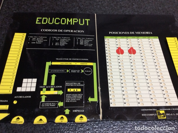 Videojuegos y Consolas: 'EDUCOMPUT'. APRENDE CÓMO PIENSA 1 ORDENADOR. MOVIBLE. 1981 - EXPLICADOS EN FORMA DE JUEGO - Foto 3 - 125088835