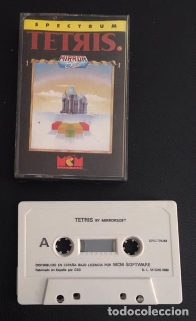 JUEGO DE ORDENADOR SPECTRUM TETRIS (Juguetes - Videojuegos y Consolas - Spectrum)