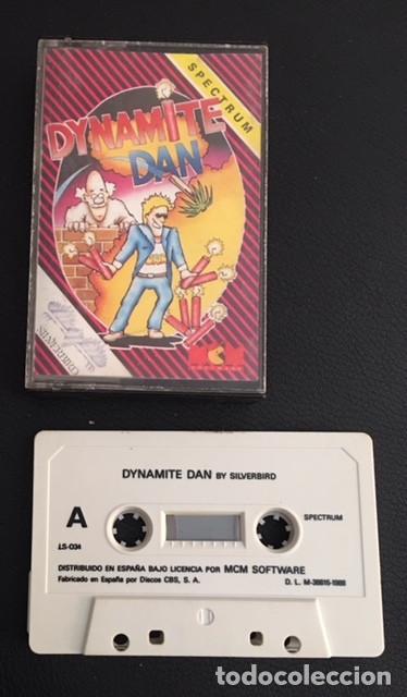 JUEGO DE ORDENADOR SPECTRUM DYNAMITE DAN MCM (Juguetes - Videojuegos y Consolas - Spectrum)