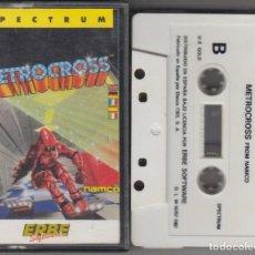 Videojuegos y Consolas: VIDEOJUEGO METROCROSS CASSETTE SPECTRUM 1987 ERBE. Lote 127727767