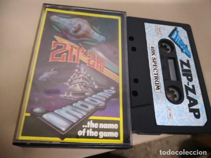 CINTA CASSETTE SPECTRUM ZIR - ZAR VIDEOJUEGO (Juguetes - Videojuegos y Consolas - Spectrum)