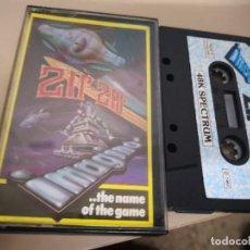 Videojuegos y Consolas: CINTA CASSETTE SPECTRUM ZIR - ZAR VIDEOJUEGO. Lote 128586423
