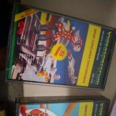Videojuegos y Consolas: 2 CINTAS CASSETTE SPECTRUM - REVISTA DE SOFTWARE VIDEOSPECTRUM GRAN CONCURSO CRUCIGRAMAS . Lote 128586871