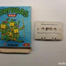 Videojuegos y Consolas: GAME FOR SPECTRUM, MCM, TORTUGAS NINJA, SPANISH VERSION, KONAMI, 1990. Lote 129287083