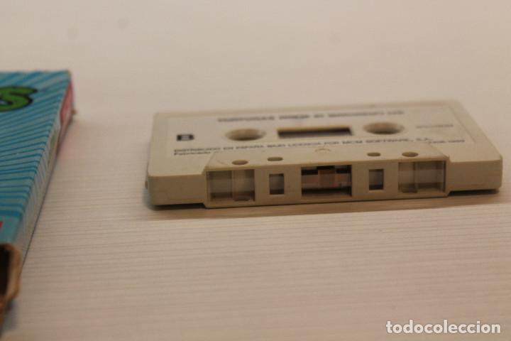 Videojuegos y Consolas: GAME FOR SPECTRUM, MCM, TORTUGAS NINJA, SPANISH VERSION, KONAMI, 1990 - Foto 2 - 129287083