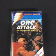 Videojuegos y Consolas: JUEGO SPECTRUM ORC ATTACK. Lote 130515120