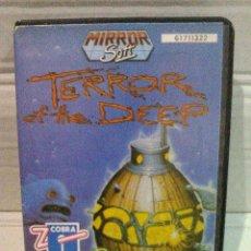 Videojuegos y Consolas: TERROR OF THE DEEP CASTELLANO SPECTRUM. Lote 130735369