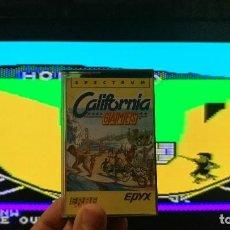 Videojuegos y Consolas: CALIFORNIA GAMES SOFTWARE SPECTRUM TESTEADO. Lote 130873476