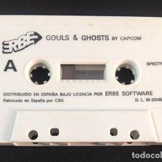 Videojuegos y Consolas: JUEGO DE ORDENADOR SPECTRUM ERBE GOULS & GHOSTS. Lote 131083420