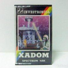 Jeux Vidéo et Consoles: XADOM INVESTRONICA JUEGO SPECTRUM SINCLAIR 48K 48 K - CASETE CASETTE VIDEOJUEGO ORDENADOR. Lote 131374278