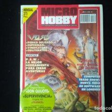 Videogiochi e Consoli: REVISTA MICRO HOBBY NÚMERO 189 PERICO DELGADO. SUPERMAN. VINDICATORS. OBLITERATOR. ULISES. Lote 131400122