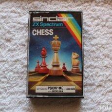 Videojuegos y Consolas: SPECTRUM. SINCLAIR JUEGO: CHESS - ZX SPECTRUM 16/48 K. Lote 131455362