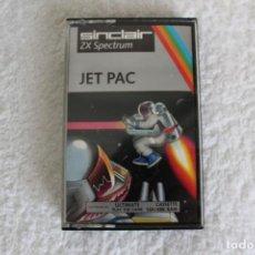 Videojuegos y Consolas: SPECTRUM. SINCLAIR JUEGO: JET PAC - ZX SPECTRUM 16/48 K. Lote 131495174