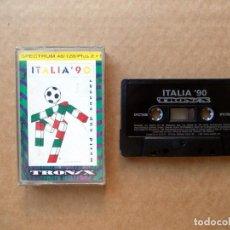 Videojuegos y Consolas: ITALIA 90 - JUEGO PARA SINCLAIR ZX SPECTRUM - COMPLETO. Lote 131531970