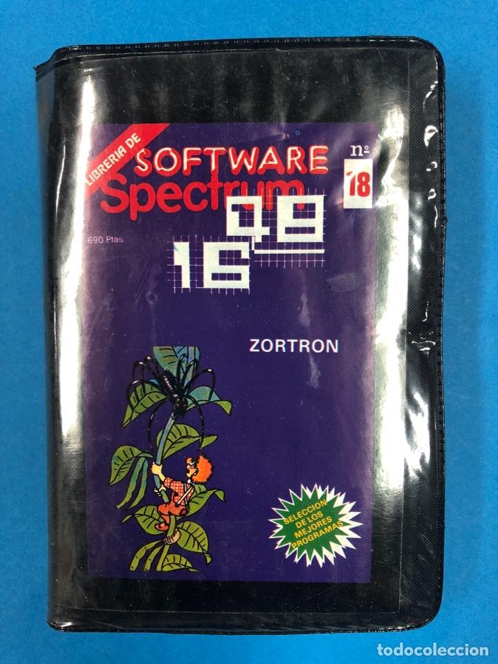 ESCUCHE SOFTWARE SPECTRUM N° 18 ZORTRON (Juguetes - Videojuegos y Consolas - Spectrum)