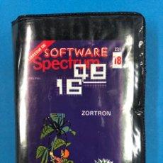 Videojuegos y Consolas: ESCUCHE SOFTWARE SPECTRUM N° 18 ZORTRON. Lote 131831173