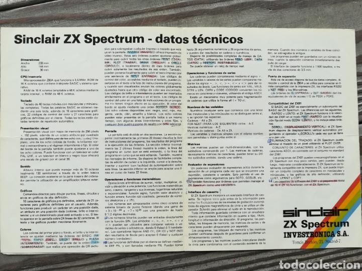 Videojuegos y Consolas: SPECTRUM SINCLAIR ZX BASIC PROGRAMMING - Foto 3 - 132078369