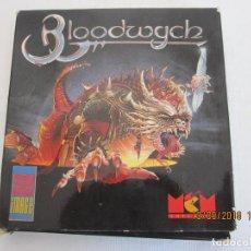 Videojuegos y Consolas: BLOODWYCH CLÁSICO JUEGO + HOJAS DE INSTRUCCIONES SPECTRUM . Lote 132996602
