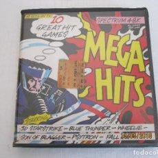 Videojuegos y Consolas: 10 MEGA HITS BEAU-JOLLY LTD 1985 ZX SPECTRUM LA PULGA,PENETRATOR,3D STARSTRIKE,FALL GUY. Lote 133190686