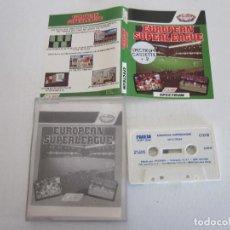 Videojuegos y Consolas: EUROPEAN SUPERLEAGUE SPECTRUM JUEGO ORIGINAL. Lote 133195726