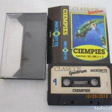 Videojuegos y Consolas: CIENPIES ORIGINAL SOFTEK MICROBYTE INDESCOMP ZX SPECTRUM. Lote 133196682
