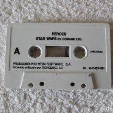 Videojuegos y Consolas: SPECTRUM. JUEGO: HEROES: STAR WARS / LICENCE TO KILL (DOMARK LTD) - SPECTRUM . Lote 133241946