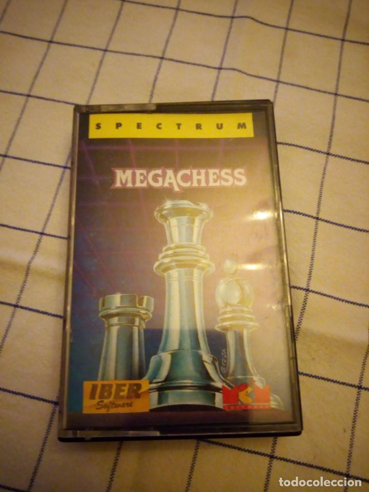 JUEGO MEGACHESS, SEPCTRUM. AMSTRAD CASSETTE. (Juguetes - Videojuegos y Consolas - Spectrum)