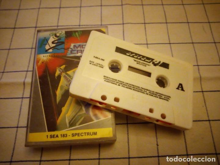 Videojuegos y Consolas: Juego morón cresta. sepctrum. Amstrad cassette. - Foto 3 - 133716650