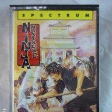 Videojuegos y Consolas: NINJA MASSACRE - SPECTRUM - CODE MASTERS 1989 - CINTA CASSETTE. Lote 133719634