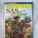 Videojuegos y Consolas: SAS COMBAT SIMULATOR - SPECTRUM - CODE MASTERS 1989 - CINTA CASSETTE. Lote 133721654