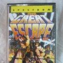 Videojuegos y Consolas: THE GREAT SCAPE - SPECTRUM - OCEAN 1986 - CINTA CASSETTE. Lote 133721798