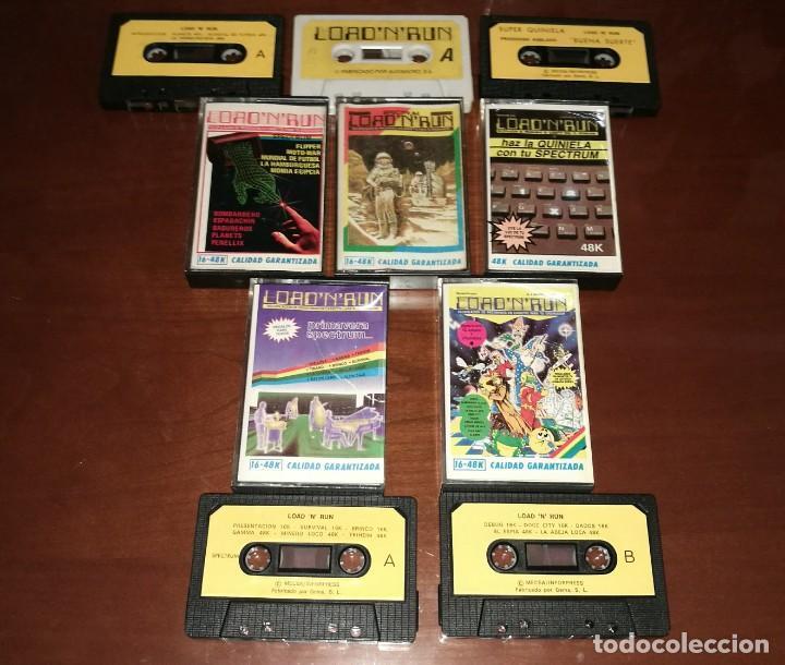 Videojuegos y Consolas: Lote Load 'N' Run Spectrum - Foto 2 - 133856466