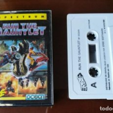 Videojuegos y Consolas: RUN THE GAUNTLET TESTEADO SPECTRUM. Lote 134041378