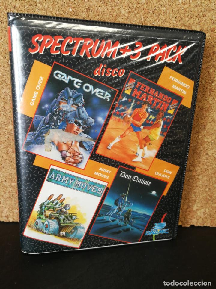 SPECTRUM +3 PACK DISCO DINAMIC (Juguetes - Videojuegos y Consolas - Spectrum)