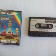 Jeux Vidéo et Consoles: CHESS, AJEDREZ JUEGO PARA SPECTRUM ZX SINCLAIR. 1982. Lote 135193950