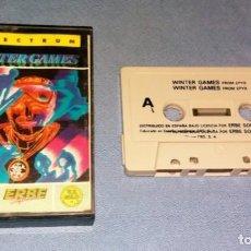 Videojuegos y Consolas: JUEGO WINTER GAMES SPECTRUM ORIGINAL MUY BUEN ESTADO DE CONSERVACION VER FOTOS Y DESCRIPCION . Lote 136058622