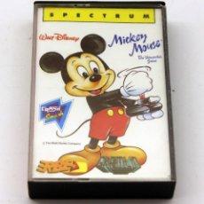 Videojogos e Consolas: SPECTRUM - MICKEY MOUSE CRASH SMASH - GREMLIN - ERBE - 1988. Lote 136152950