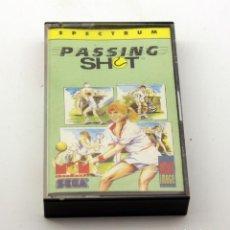 Videojuegos y Consolas: SPECTRUM - PASSING SHOT - MCM - SEGA - 1989. Lote 136153182