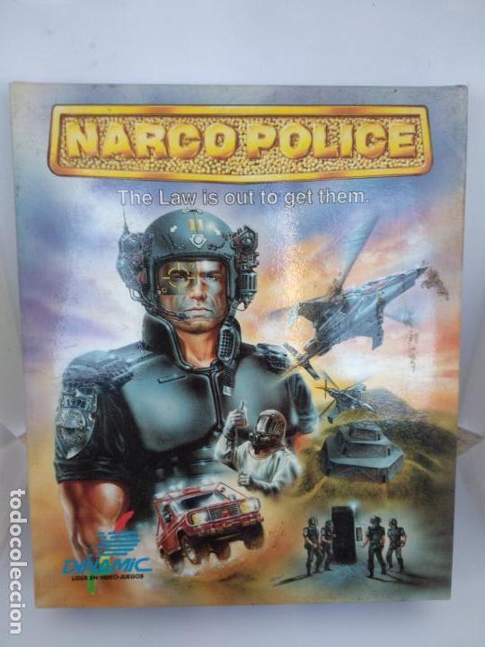 NARCO POLICE SPECTRUM DINAMIC NARCO POLICE COMPLETO CAJA DE CARTÓN NUEVO A ESTRENAR (Juguetes - Videojuegos y Consolas - Spectrum)