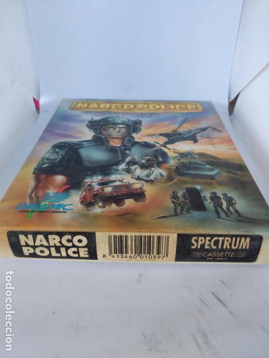 Videojuegos y Consolas: NARCO POLICE SPECTRUM DINAMIC NARCO POLICE COMPLETO CAJA DE CARTÓN NUEVO A ESTRENAR - Foto 3 - 138650010
