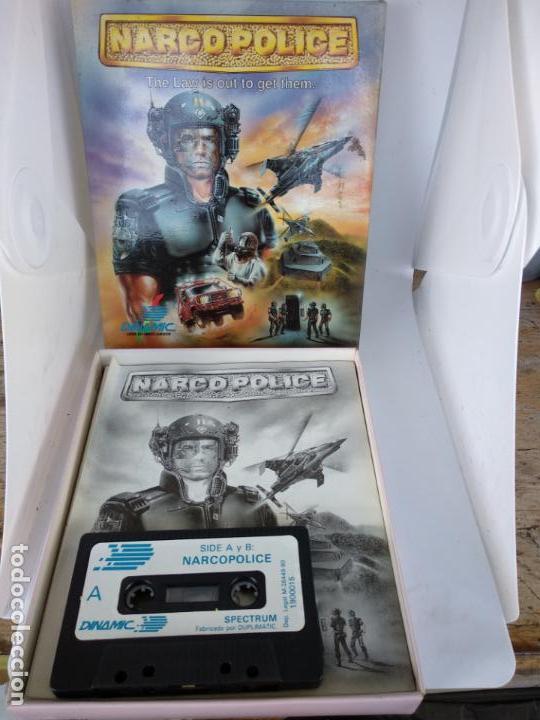 Videojuegos y Consolas: NARCO POLICE SPECTRUM DINAMIC NARCO POLICE COMPLETO CAJA DE CARTÓN NUEVO A ESTRENAR - Foto 5 - 138650010