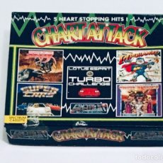 Videojuegos y Consolas: CHART ATTACK [GREMLIN GRAPHICS] 1992 [ZX SPECTRUM] SHADOW BEAST,LOTUS TURBO,IMPOSSAMOLE,GHOULS GHOST. Lote 138755489