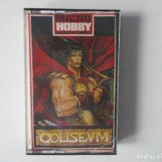 Jeux Vidéo et Consoles: CASSETTE SPECTRUM MICROHOBBY. INCLUYE JUEGOS COLISEUM DE TOPO Y DUSTIN DE DINAMIC.. Lote 138949778