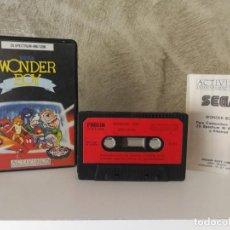 Videojuegos y Consolas: WONDER BOY SPECTRUM ESTUCHE DURO. Lote 139749834