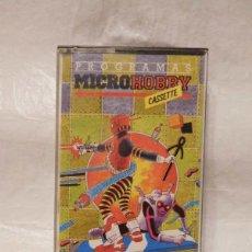 Videojuegos y Consolas: M69 JUEGOS SPECTRUM PROGRAMAS MICROHOBBY CASSETTE AÑO 1 Nº1 . Lote 139750078