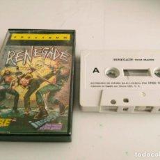Videojuegos y Consolas: ANTIGUO JUEGO PARA SPECTRUM PAC RENEGADE. Lote 140107686