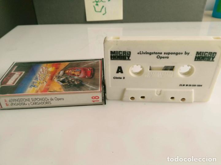 ANTIGUO JUEGO PARA SPECTRUM LIVINGTONE SUPONGO (Juguetes - Videojuegos y Consolas - Spectrum)